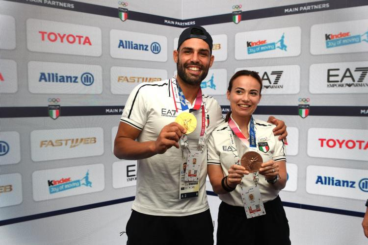 The party goes on: the medalists Busà and Bottaro and sport climbing at the Casa Italia